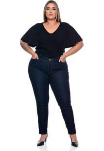Calça Plus Size Skinny Elástico - Tricae
