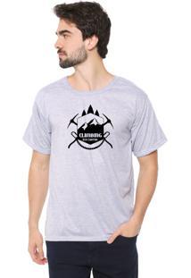 Camiseta Eco Canyon Climb Cinza