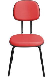 Cadeira Pethiflex Csf02 7/8 Couro Vermelho