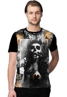 Camiseta Stompy Psicodelica1 Masculina - Masculino