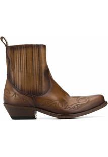 Golden Goose Ankle Boot Santiago - Marrom