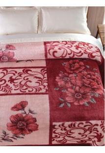 Cobertor Casal Jolitex Vinho