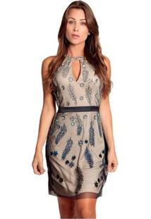 65eb2c55ee Vestido Pedra Tule feminino
