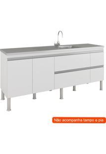 Balcão De Cozinha Prisma 3 Pt 3 Gv Branco