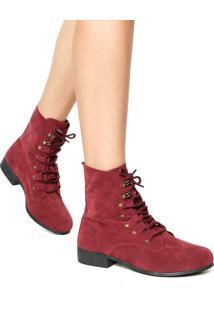 208e9f937 R$ 64,99. Dafiti Bota Coturno Dafiti Shoes Tachas Vinho