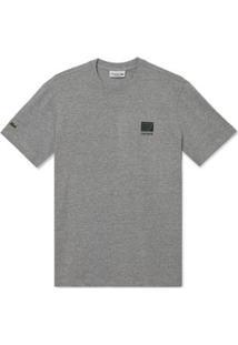 Camiseta Lacoste Manga Curta Fancy - Masculino-Cinza