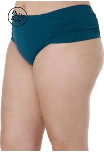 Calcinha De Biquini Plus Size Feminina Verde