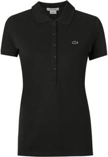 Lacoste Camisa Polo - Preto