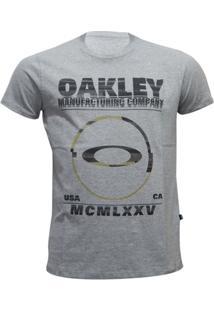 Camiseta Oakley Seeing Double Elipse Masculino - Masculino