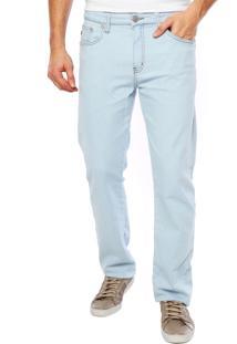 Calça Jeans Forum Slim Detalhe Azul