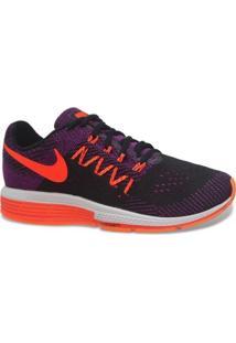 Tenis Nike Running Air Zoom Vomero 10 Preto Laranja