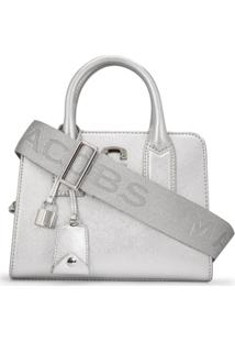 Marc Jacobs Bolsa Tote 'Big Shot' - Prateado