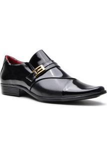 Sapato Promais 0701A Co - Masculino-Preto