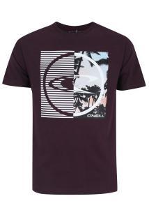 Camiseta O'Neill Dynamo - Masculina - Vinho