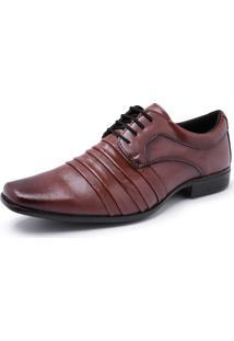 Sapato Social Schiareli Sintético Solado Borracha 1901 Marrom