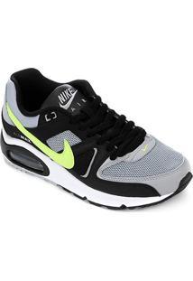 Tênis Nike Air Max Command Masculino - Masculino-Cinza+Preto