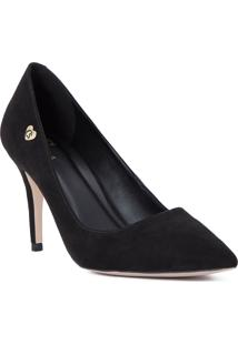 Scarpin Black Classic Cs Club Preto