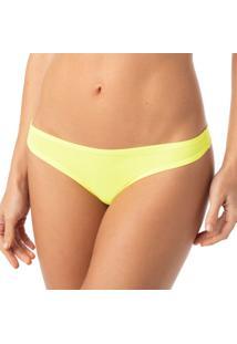 Calcinha Fio Dental Amarelo Neon Active | 524.021