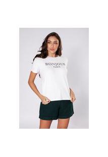 Camiseta Preview Bonjour Branco