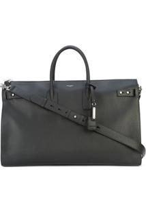 Saint Laurent Bolsa Sac De Jour Oversized - Preto
