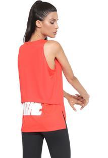 Regata Nike Nk Tank Rebel Coral