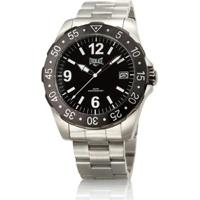 b648ec8f00b Relógio Pulso Everlast Caixa E Pulseira Aço E267 Masculino - Masculino-Preto