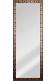 Espelho De Parede Retangular Esmeralda 169X63Cm Dourado