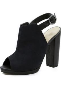 Sandália Shoes Inbox Open Back Boot - Feminino