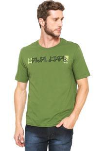 Camiseta Cavalera Tape Verde