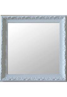 Espelho Moldura Rococó Raso 16381 Branco Art Shop