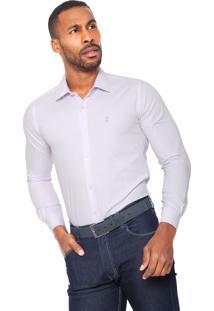 Camisa Sergio K Point Roxa