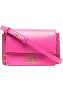 Versace Jeans Couture Logo-Charm Cross-Body Bag - Rosa