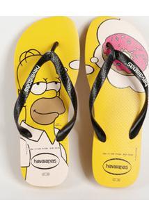 Chinelo Havaianas Masculino Simpsons 1652
