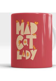 Caneca Mad Cat Lady