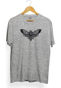 Camiseta Long Beach Butterfly Skull Masculina - Masculino