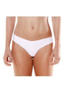 Calcinha Fio Dental Sem Costura Branco Make - 406.021 Marcyn Lingerie Fio Dental Branco