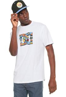 Camiseta Dc Shoes All City Branca