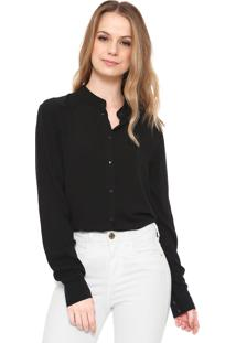 Camisa Jdy Lisa Preta