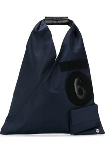 Mm6 Maison Margiela Bolsa Tote Japanese - Azul