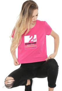 Blusa Ellus 2Nd Floor Square Pink - Kanui