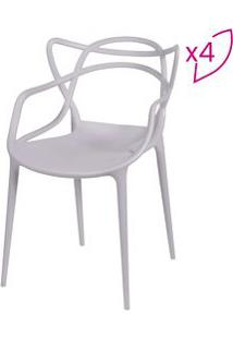 Or Design Jogo De Cadeiras De Jantar Solna Fendi 4Pã§S