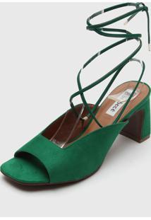 Sandália Bebecê Amarração Verde