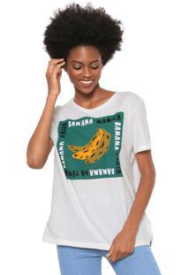 Camiseta Cantão Bananas Off-White