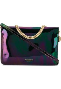 Givenchy Clutch Transversal Oil Slick - Preto