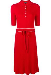 Cashmere In Love Vestido De Tricô - Vermelho