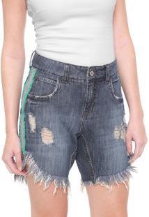 Bermuda Jeans Colcci Tita Azul