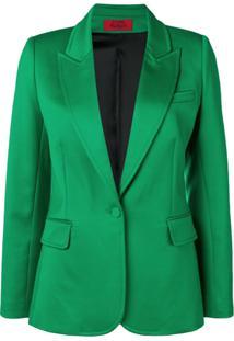Styland Blazer Com Bolsos - Verde