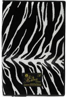 Raf Simons Carteira Com Animal Print - Preto