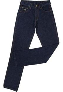 Calça Jeans King Farm Black King Original Masculina - Masculino-Marinho