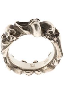 Werkstatt:München Anel 'Bones + Skulls' - Metálico